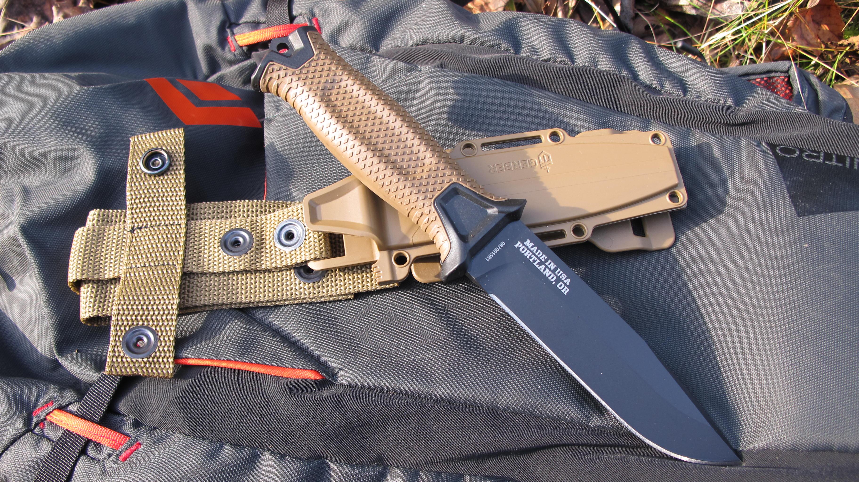 Couteau Militaire Amazon gerber strongarm – survie boréale